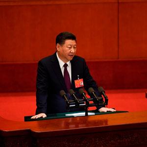 당대회서 '시진핑 이론' 담긴 중국 특색 사회주의 천명