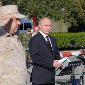 푸틴, 시리아 파견 자국군 철수 지시…2년여 내전 개입