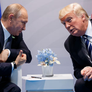 """트럼프, 푸틴에 재선 축하 전화…""""한반도 비핵화 강조"""""""