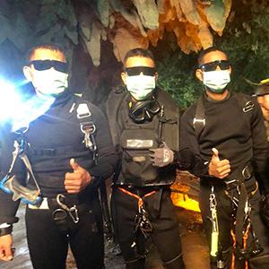 태국 동굴소년 구조한 영웅들