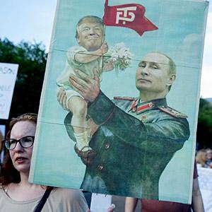 '트럼프는 푸틴의 아기'
