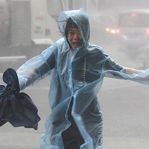 태풍 '망쿳'에 중 남부 200만명 대피