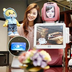 SK텔레콤, 차세대 AI 로봇 공개