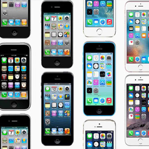 아이폰 10년, 그동안 출시된 다양한 아이폰들