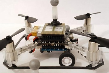 MIT, 하늘 날고 땅도 달리는 자율주행 드론 공개