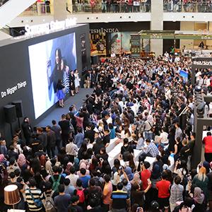 말레이시아에서 열린 갤럭시 노트8 출시 행사