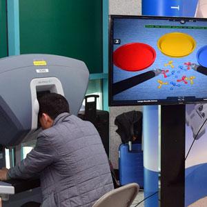 을지대병원서 수술로봇 체험