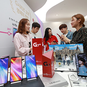 LG전자 스마트폰 G7 씽큐 출시