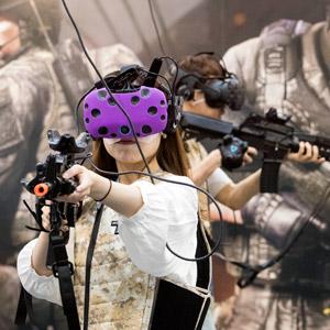 VR로 즐기는 게임