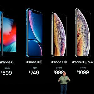 애플, 신형 아이폰 3종 공개…아이폰XS·XS맥스·XR