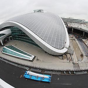 인천공항 제2여객터미널 막바지 공사중