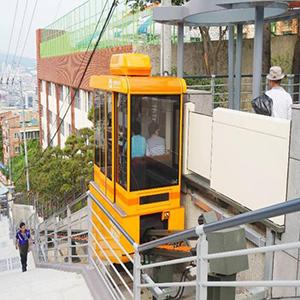 서울시, 경사지를 오가는 모노레일 도입