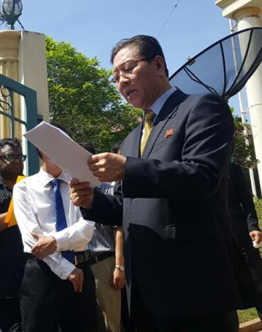 北-말레이 '벼랑끝' 치닫나…김정남 암살사건 외교갈등 증폭