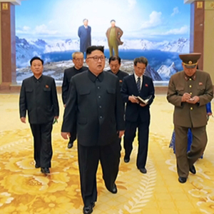 북한 김정은, 증·개축 마친 조선혁명박물관 시찰