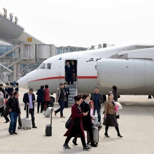 북한 평양-중국 단둥 항공노선 취항