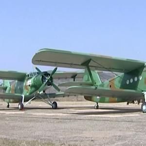 북한 여맹, 창군절 맞아 경비행기 기증