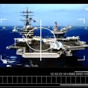 북한, 미사일로 美항모·백악관 타격 새 가상영상 공개