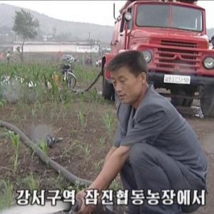 북한도 가뭄 '비상'…소방차 동원해 물 공급