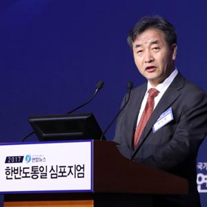 인사말 하는 박노황 연합뉴스 사장