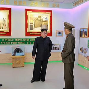 북 김정은, 국방과학원 화학재료연구소 시찰