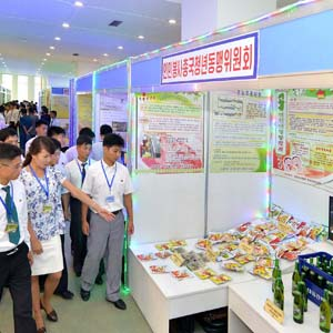 북한 전국청년과학기술성과전시회