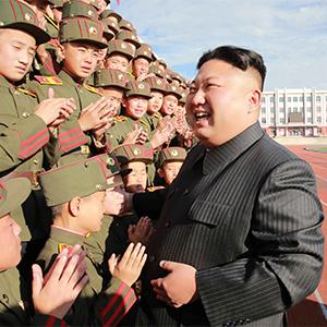 김정은, 설립 70주년 만경대혁명학원 방문