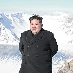백두산 오른 북한 김정은