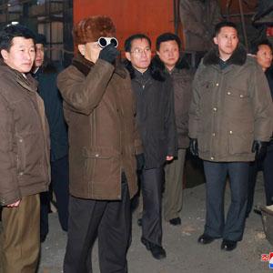 북한 박봉주, 천리마제강연합기업소 시찰