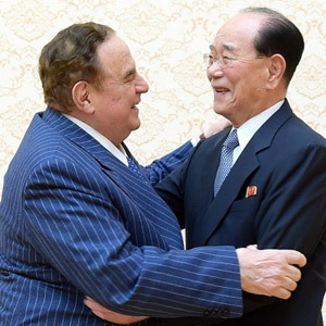 김영남 상임위원장, 이탈리아종합투자그룹 이사장 접견