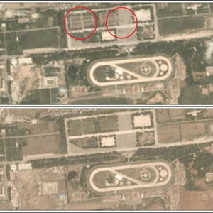 VOA, 북한 열병식 준비 추정 모습 보도