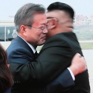[평양정상회담] 평양포옹