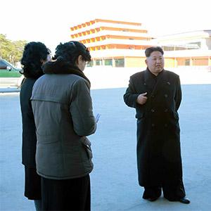 北 김정은, 신축 강원도 소년단야영소 시찰