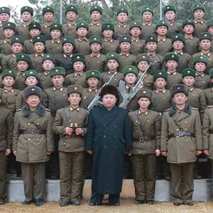 김정은, 새해 첫 군부대 시찰