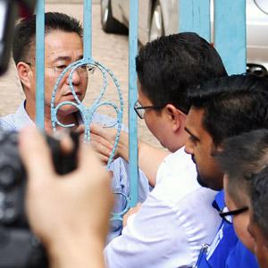 북한대사관에 항의서한 전달