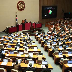 국정교과서 중단 결의안 본회의 통과