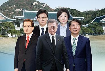 대선 D-10…후보 5人, '황금연휴' 앞둔 주말 유세전 대격돌