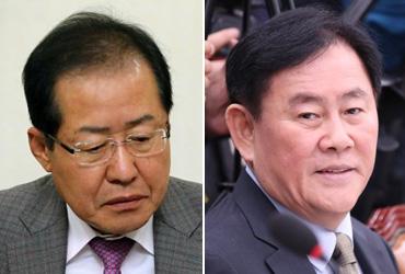 한국당, '朴 출당' 후폭풍…홍준표·친박 '가시돋친' 설전