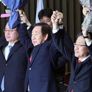 한국당 새 원내대표에 '친홍' 김성태