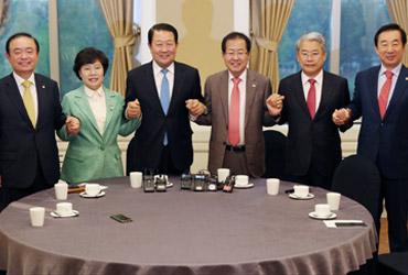 야3당, '드루킹 특검법안·국정조사요구서' 공동제출 합의