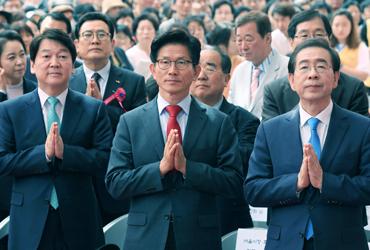 여야 지도부, 부처님오신날 '불심 잡기' 총출동