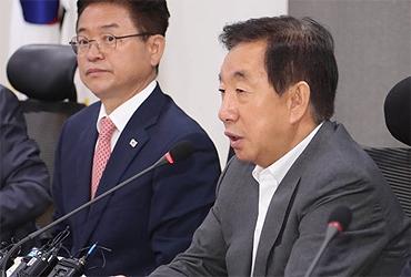 김성태의 한국당 쇄신안 나오자마자 '누구맘대로' '헛다리' 분란