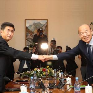 남북적십자회담 대표단, 금강산서 이산가족 상봉 협의
