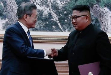 """9월 평양공동선언 """"한반도, 핵무기·핵위협 없는 평화터전"""""""