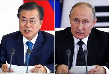 문대통령, 내일 푸틴과 네번째 정상회담…비핵화 입장 조율