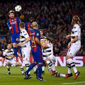 바르셀로나, 묀헨글라드바흐에 4-0 대승