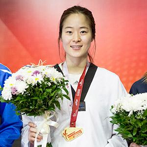 오혜리, 금메달