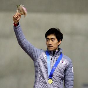 일본에서 건진 금메달