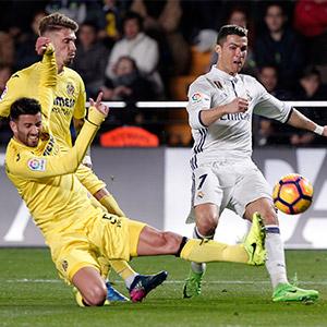 레알, 비야레알에 3-2 승리…리그 선두