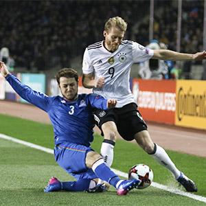 '쉬얼레 멀티골' 독일, 아제르바이잔에 4-1 대승