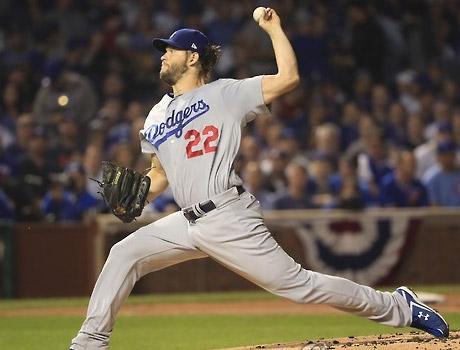 커쇼, 7이닝 1실점으로 시즌 4승…다저스 2-1로 SF 제압